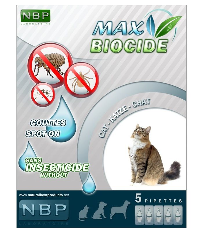 NBP Pipete Antiparazitare Pisica 5buc
