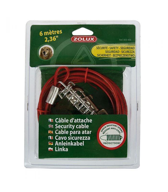 Cablu cu Amortizor 6m M 403406