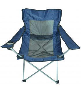 Scaun Camping Pliabil cu Brate Mesh