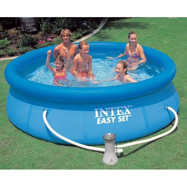 Intex piscina gonflabila easy 56922 for Easy piscinas