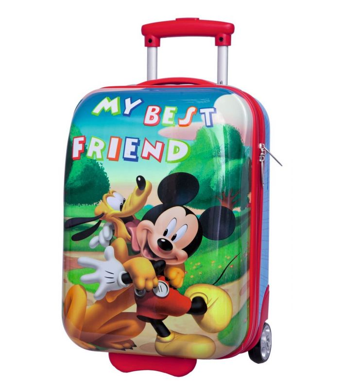 Troler Abs 48 cm Mickey si Pluto Friends