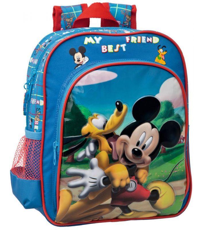 Ghiozdan 28 cm Mickey si Pluto Friends