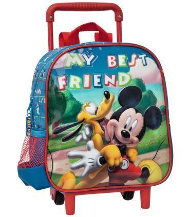 Troler Convertibil Gradinita 25 cm Mickey si Pluto Friends