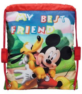 Sac 29 cm Mickey si Pluto Friends