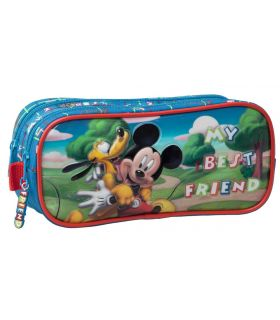 Penar 23 cm, 2 Compartimente Mickey si Pluto Friends