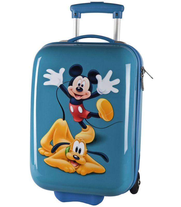 Troler Abs 55 cm Mickey si Pluto