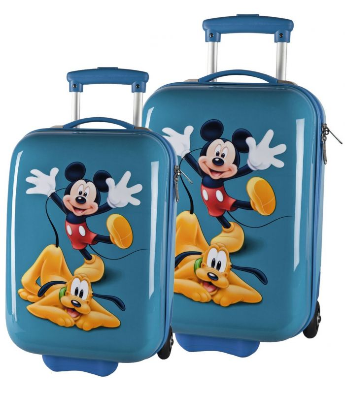 Set Troler Abs 48/55 cm Mickey si Pluto