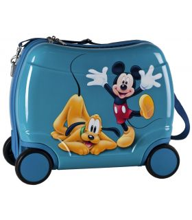 Geanta de Gradinita cu 4 Roti 46 cm Mickey si Pluto