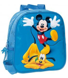 Ghiozdan 25 cm Mickey si Pluto