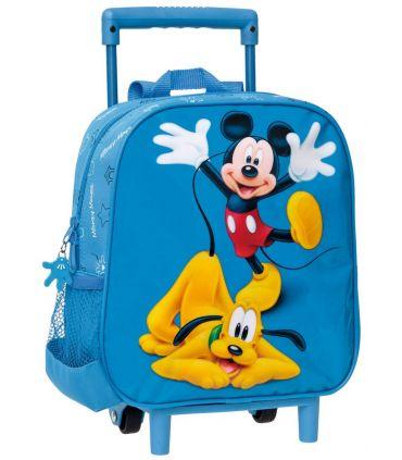Troler Convertibil Gradinita 25 cm Mickey si Pluto