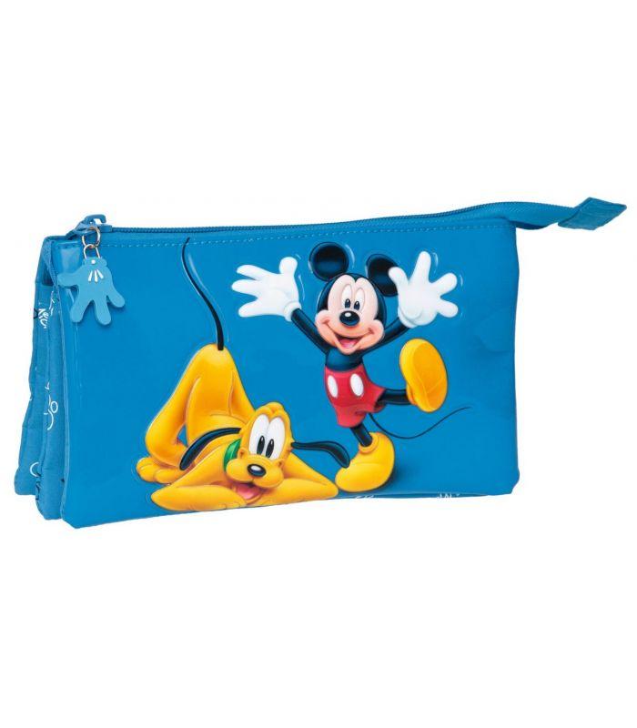 Penar 22 cm, 3 Compartimente Mickey si Pluto