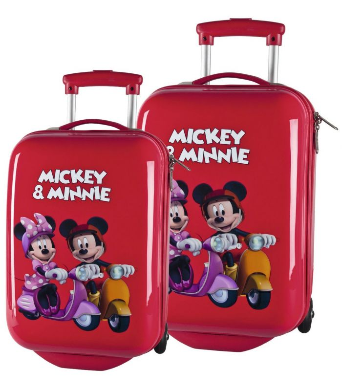Set Troler Abs 48/55 cm Mickey si Minnie