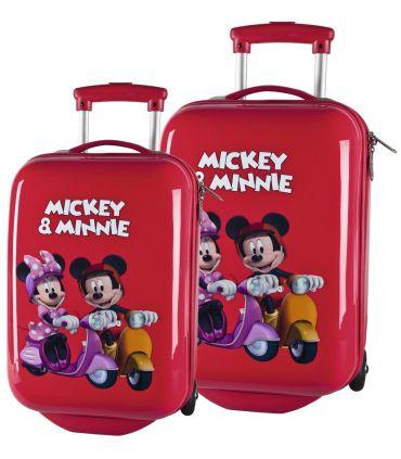 Set Troler Abs 48/55 cm Mickey si Minnie