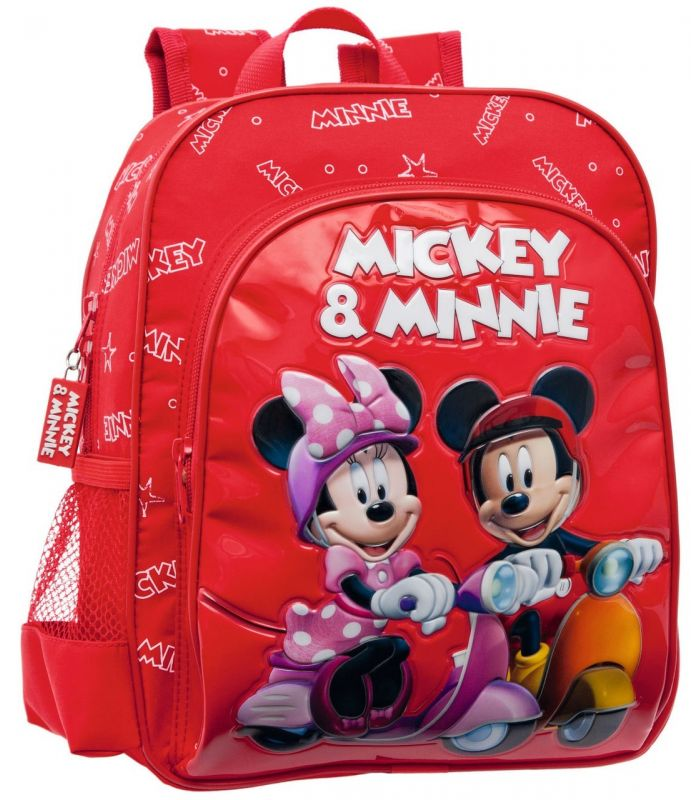 Ghiozdan 28 cm Mickey si Minnie