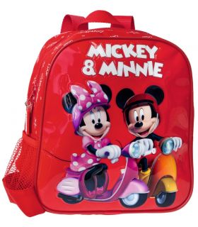 Ghiozdan 25 cm Mickey si Minnie
