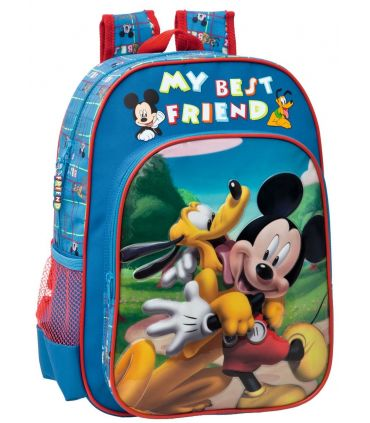 Ghiozdan 38 cm Mickey si Pluto Friends