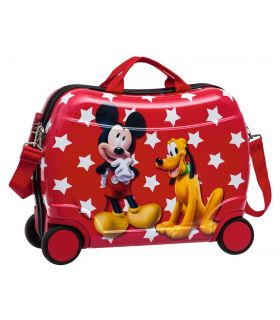 Geanta de Gradinita Abs 50 cm 4 Roti Mickey si Pluto Stars