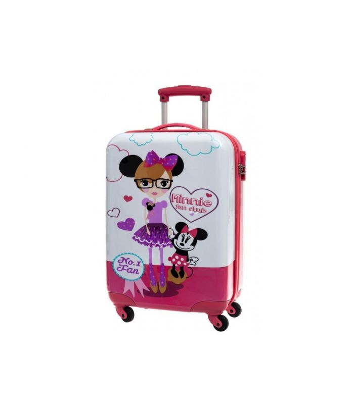 Troler Abs 55 cm 4 Roti Minnie Fan Club