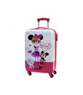 Troler Abs 68 cm 4 Roti Minnie Fan Club