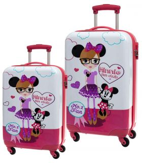 Set 2 Trolere Abs 55/68 cm 4 Roti Minnie Fan Club