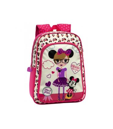 Ghiozdan scoala Minnie Fan Club 40 cm