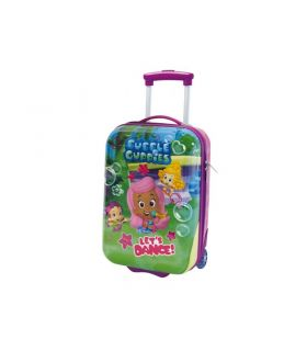 Troler Abs 48 cm 2Roti Bubble Guppies
