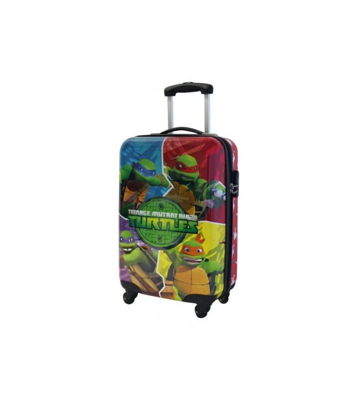 Troler Abs 55 cm 4 Roti Turtles Cartoon