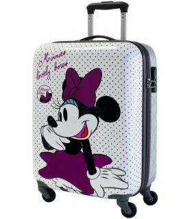 Troler Abs 55 cm 4 Roti Minnie Bows