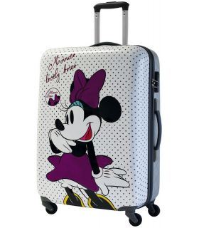 Troler Abs 69 cm 4 Roti Minnie Bows