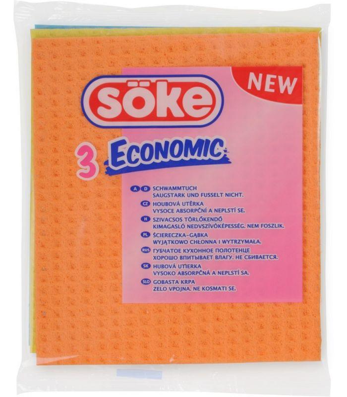 3 Lavete Umede Economic Spontex
