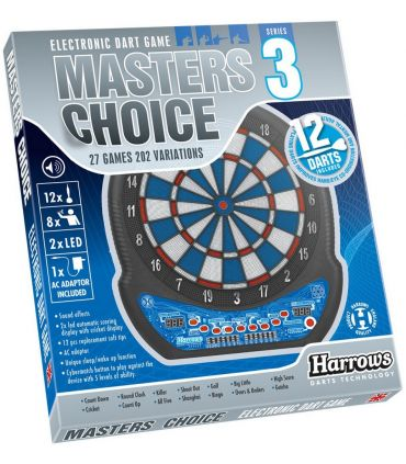 Masters Choice Series 3 Electronic Dart Game