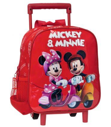 Troler Convertibil Gradinita 25 cm Mickey si Minnie