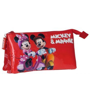 Penar 22 cm, 3 Compartimente Mickey si Minnie