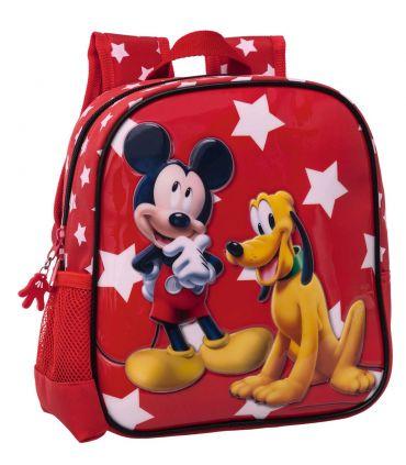 Ghiozdan Gradinita 25 cm Mickey si Pluto Stars