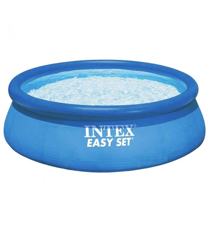intex piscina gonflabila easy set 28132. Black Bedroom Furniture Sets. Home Design Ideas