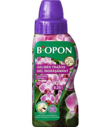Biopon Ingrasamant Gel Orhidee 0.25 l