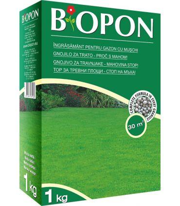 Biopon Ingrasamant Gazon cu Muschi Control 1 kg