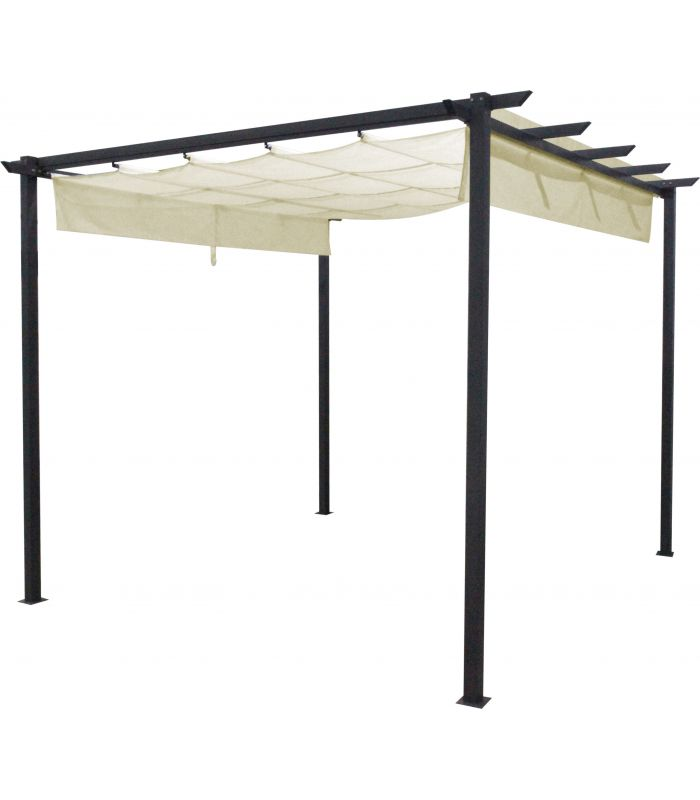 Pavilion Gradina 3x3x2.3 m Ecru