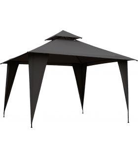 Pavilion Gradina 350x350 cm Gri