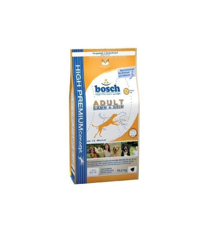 Bosch HP Adult Miel si Orez 15 Kg
