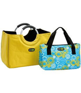 Set Frigorific Bag In The City 24+8 Litri Galben-Albastru Giostyle