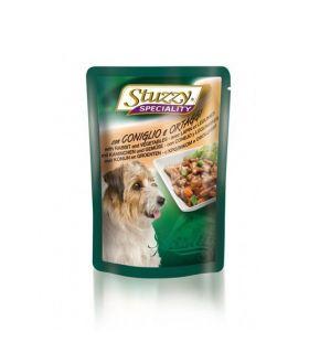 Stuzzy Speciality Dog Iepure si Legume 100g