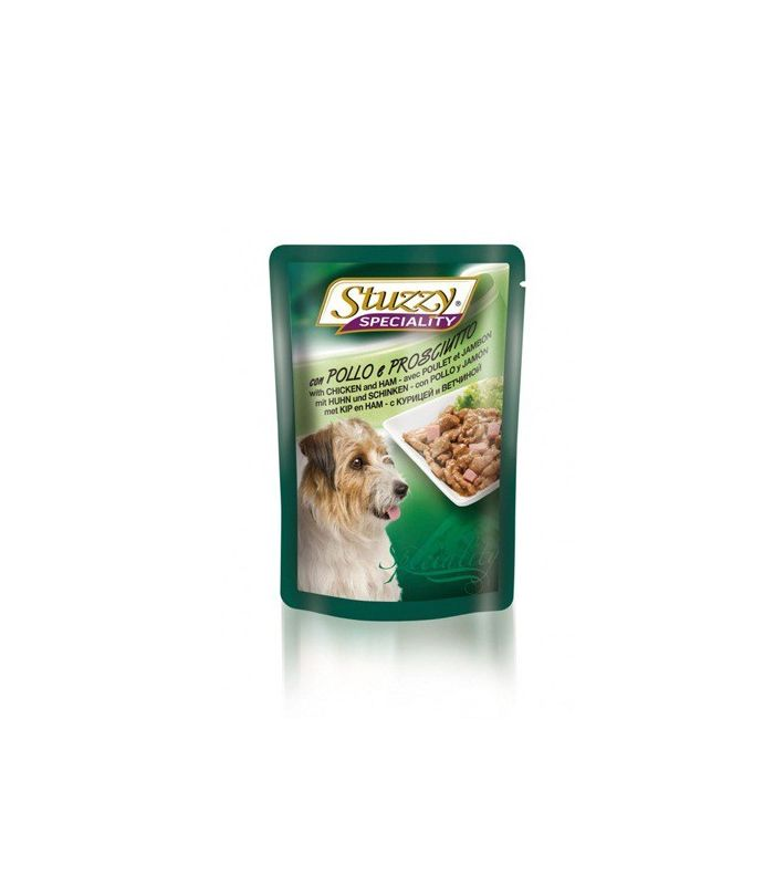 Stuzzy Speciality Dog Pui si Sunca 100g
