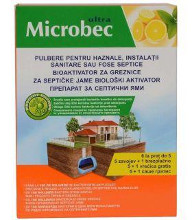 Bros Microbec PROMO 5+1 GRATIS Tratament Pentru Fose Septice 6x25 gr