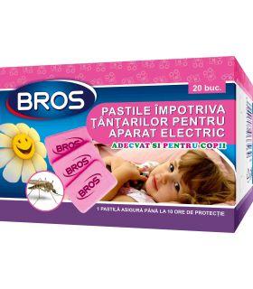 Bros Rezerve Aparat Electric Pentru Copii Impotriva Tantarilor 20 Pastile