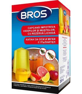 Bros Capcana Impotriva Viespilor si Mustelor cu Rezerva Lichid 200 ml