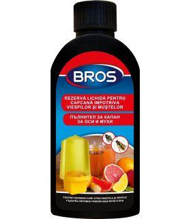 Bros Rezerva Lichid Pentru Capcana Viespi si Muste 200 ml