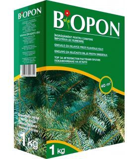 Biopon Ingrasamant Conifere Anti-Ingalbenire Ace 1 kg