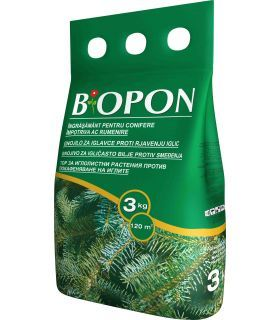 Biopon Ingrasamant Conifere Anti-Ingalbenire Ace 3 kg