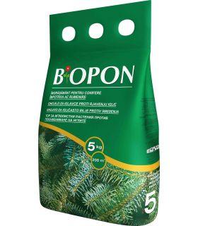Biopon Ingrasamant Conifere Anti-Ingalbenire Ace 5 kg